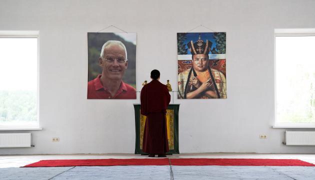 Его Святейшество Тринле Тхае Дордже, Семнадцатый Кармапа в гомпе Иркутского Буддийского центра